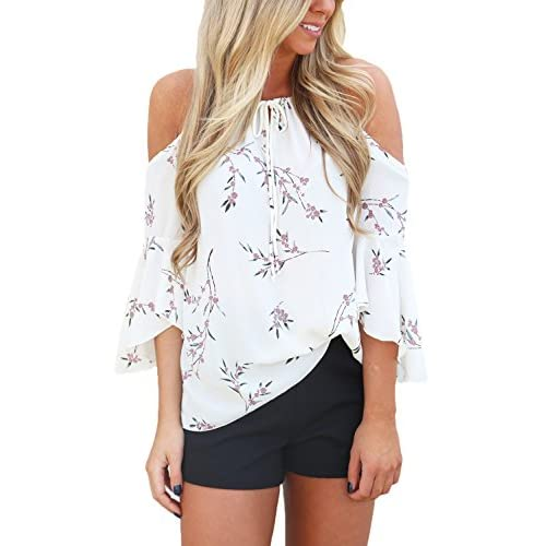 Hokny TD Women Sleeveless T-Shirt Letter Print Tops O-Neck Tees Blouse Grey Large