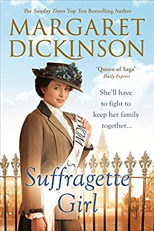 book cover of Suffragette Girl