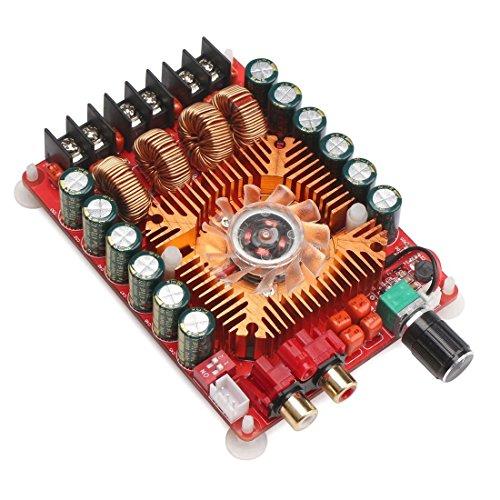 TOOGOO(R) TDA7498E 2X160W Dual Channel Audio Amplifier Board, Support BTL Mode 1X220W Single Channel, DC 24V Digital Stereo Power Amp Module for Car Vehicle Computer