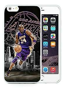 New Custom Design Cover Case For iPhone 6 Plus 5.5 Inch Kobe Bryant 11 White Phone Case