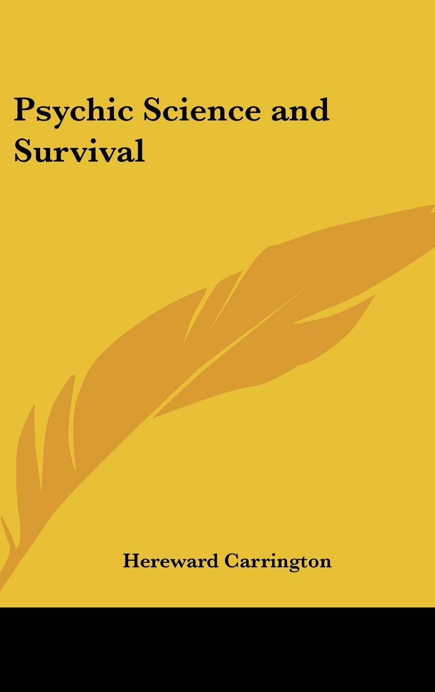 Download Psychic Science and Survival pdf epub
