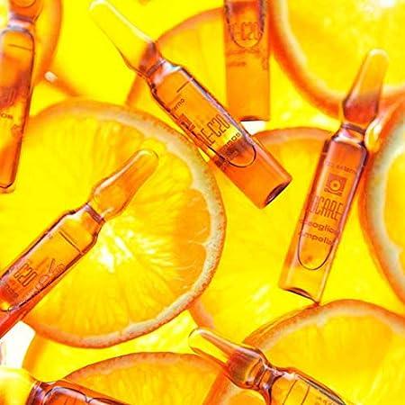 Endocare Radiance C 20 Proteoglicanos - Ampollas Faciales Antiedad, Regeneradoras, Hidratantes y Antioxidantes, con Vitamina C, Pieles Secas o Deshidratadas, 30 Uds
