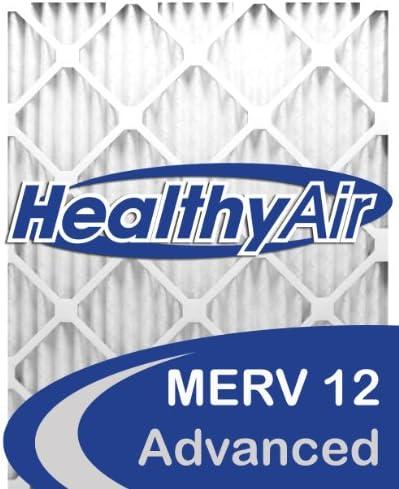Aire sano 20 x 20 x 1 12 Merv plisado filtro de aire del horno ...