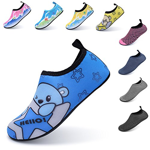 Pictures of LINGMAO Boys Water Shoes Barefoot Swimming Skin DD5050 5