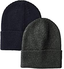 An Amazon brand - This soft knit beanie is the perfect accessory for style and as a layer against the chill