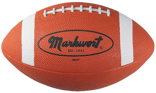 Markwort Official Size Rubber Football