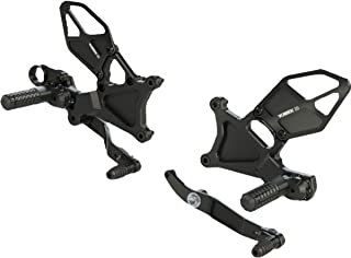 product image for Vortex RS634K Black Rear Set for Yamaha YZF-R6 2017-2018