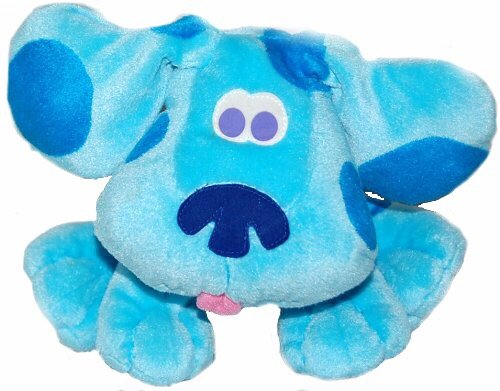 Baby Solace Blues Clues Blue Plush