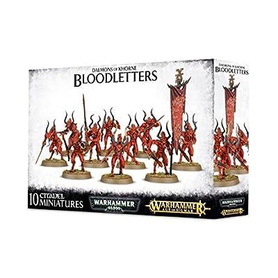 Bloodletters of Khorne Daemons Warhammer Fantasy 40k from Games Workshop