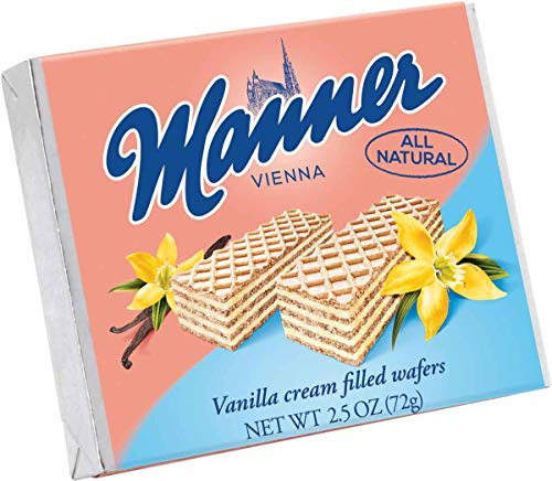 - Manner Vanilla Wafers, 2.54 Ounce (Pack of 12)