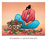 Chili Fiesta R. C. Gorman Art Print Poster 31x27.25 for sale  Delivered anywhere in USA