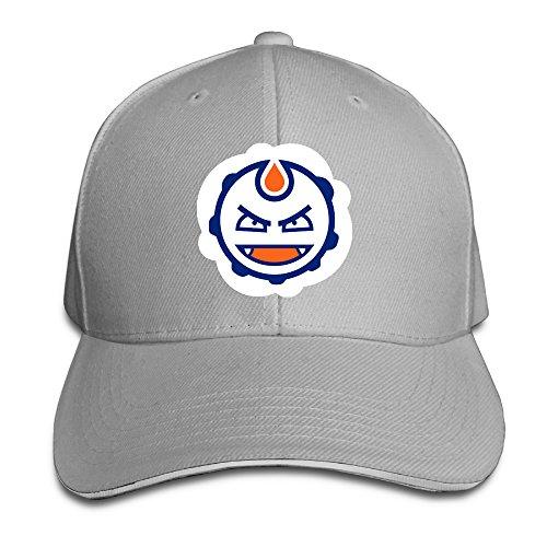 ACMIRAN Edmonton Hockey Oilers Adjustable Baseball Cap One Size Ash.  Edmonton Oilers Hard Hat 8e1d1337d16c