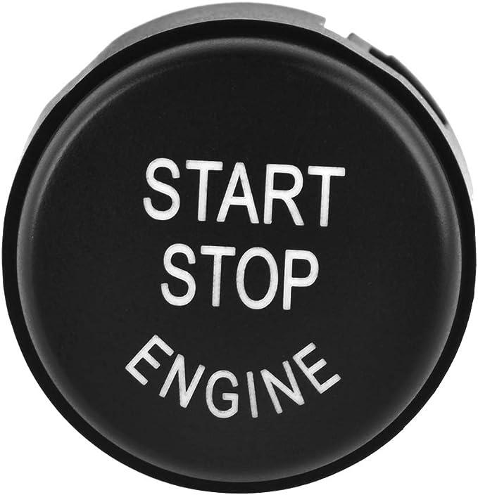 pulsante di avviamento del motore Pulsante di arresto dellinterruttore di avviamento adatto per 5 serie 7 Serie 61319153832 Coperchio dellinterruttore di avvio//arresto del motore