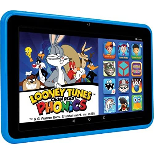 EPIK Learning Tab 7 Kids Tablet 16GB Intel Atom Z3735G Quad-Core Processor, Blue / 16GB onboard storage memory Coupons