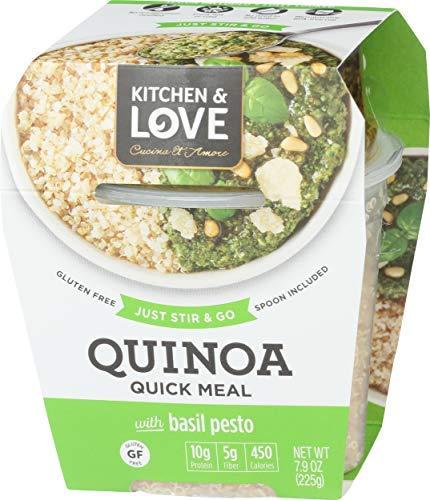 Kitchen & Love Basil Pesto Quinoa Quick Meal, Single
