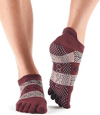 Toesox Ft Low Rise Confezione da 2 Unisex Adulto Calzini da Yoga