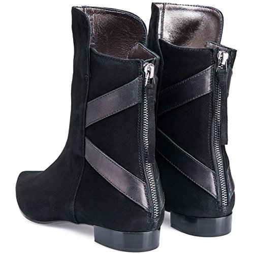 Dorothee Schumacher , Chaussures bateau pour femme Noir Noir