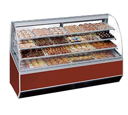 (Federal Sn-59 Bakery Display Case, Non-Refrigerated, 59-1/4