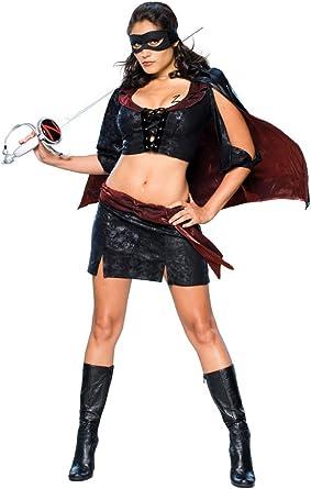 Rubies Disfraz de Lady Zorro para mujer - M: Amazon.es: Ropa y ...