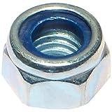 Hard-to-Find Fastener 014973278595 M8 Nylon Insert Lock Nuts, 1.25-Inch, 100-Piece