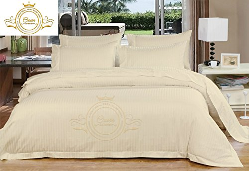Zoom Collection Hotel Beddings 850-Thread-Count 100% Egyptian Cotton 4 Piece Sheet Set 22