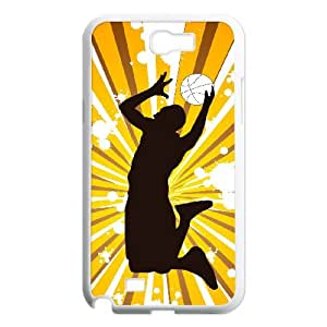 Winfors Basketball Phone Case For Samsung Galaxy Note 2 N7100 [Pattern-5]