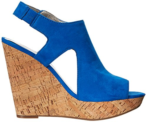 Blue by Sandal Malor Carlos Wedge Women's Santana Carlos 1agB0qwq