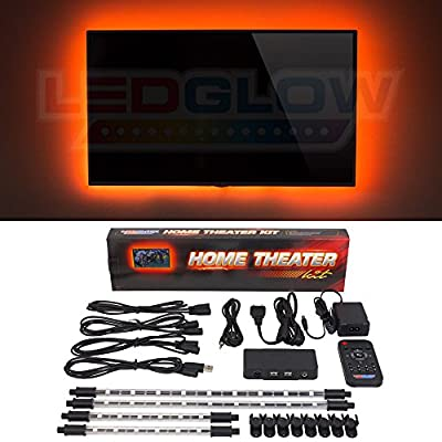 LEDGlow Million Color Home Theater LED Accent Lighting Kit