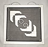 """Complete Window Screen Kit 5/16"""" x 3/4"""" Makes One"""