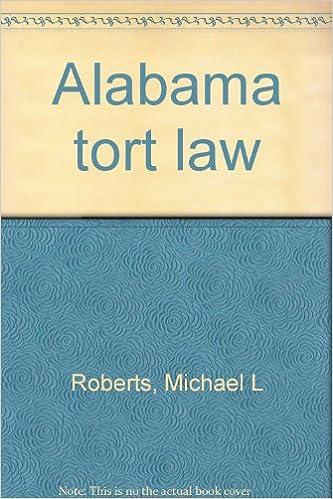 Download Alabama tort law PDF
