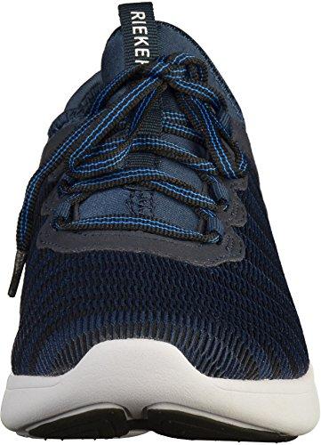 Rieker Man Snörning Blau 641.392-5 Navy