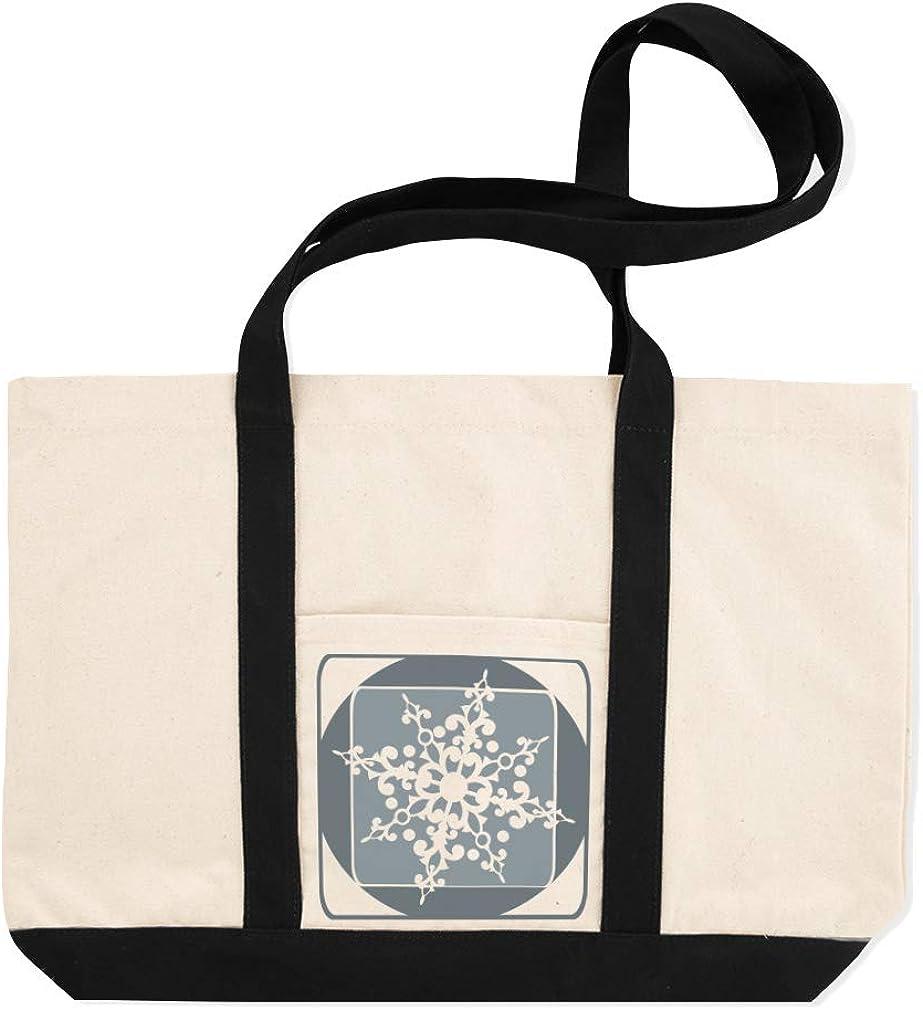 Canvas Shopping Tote Bag Flower Image Patterns Turkish Design Patterns Beach for Women