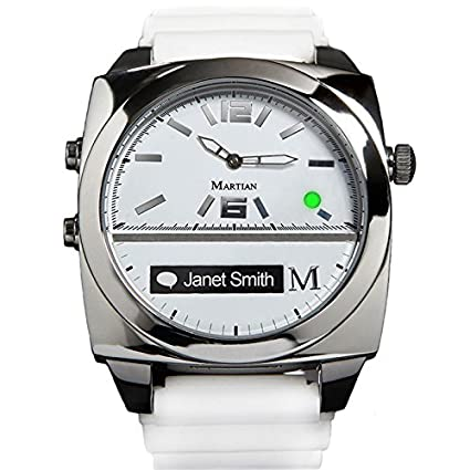 Martian Victory Smartwatches with Amazon Alexa – Analog + Voice (B00FOLM1VG)