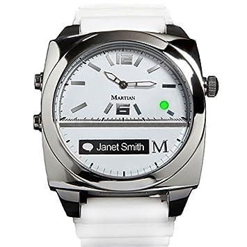 Martian Watches Victory OLED Plata, Blanco Reloj Inteligente ...