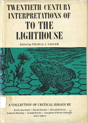 Amazoncom Woolfs To The Lighthouse A Collection Of Critical  Woolfs To The Lighthouse A Collection Of Critical Essays Th Century  Interpretations