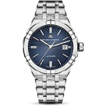 Maurice Lacroix Men's Aikon Automatic 42 mm Watch | Blue/Silver