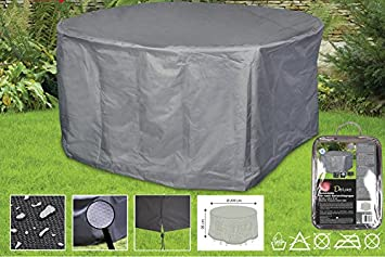Boni Shop Deluxe Abdeckhauben Fur Gartenmobel Schutzhullen Runde Sitzgruppe Ca 200x95