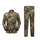 Outdoor Woodland Hunting Shooting Shirt Battle Dress Uniform Tactical BDU Set Combat Clothing Camouflage US Uniform