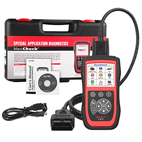 Autel MaxiCheck Pro ABS Brake Bleed OBD2 Scanner Car Diagnostic Tool EPB/ABS/SRS/SAS/Airbag/Oil Service Reset/BMS/DPF