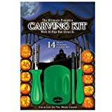 The Ultimate Pumpkin Carving Kit with 10 Pop-Out