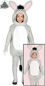 Disfraz de Burro Gris para niños: Amazon.es: Juguetes y juegos