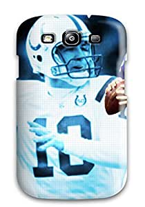 EUNaeVN1430xNeMU Case Cover Peyton Manning Galaxy S3 Protective Case