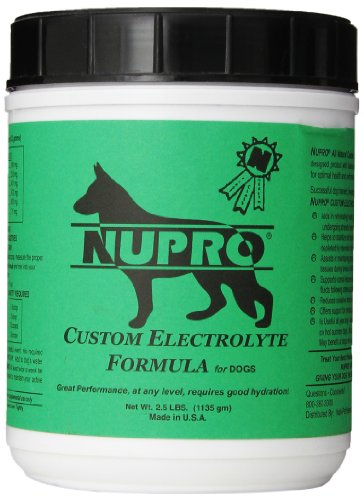 Nutri-Pet Research Nupro Electrolytes for Dogs, 2.5-Pound