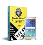 Gorilla Guard's Pro Series Tempered Glass for Samsung Galaxy on5 with HD+ Ultra Clear Edge to Edge 8H Hardness, UV Protect & Anti-Smudge Technology Tempered Glass Phone Protector (04-Sam-on5-pro)