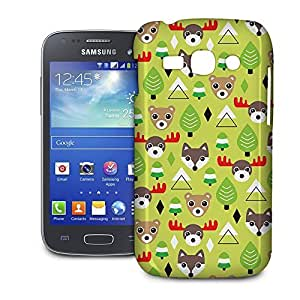 Phone Case For Samsung Galaxy Ace 3 S7272 - Christmas Forest Animals Slim Cover