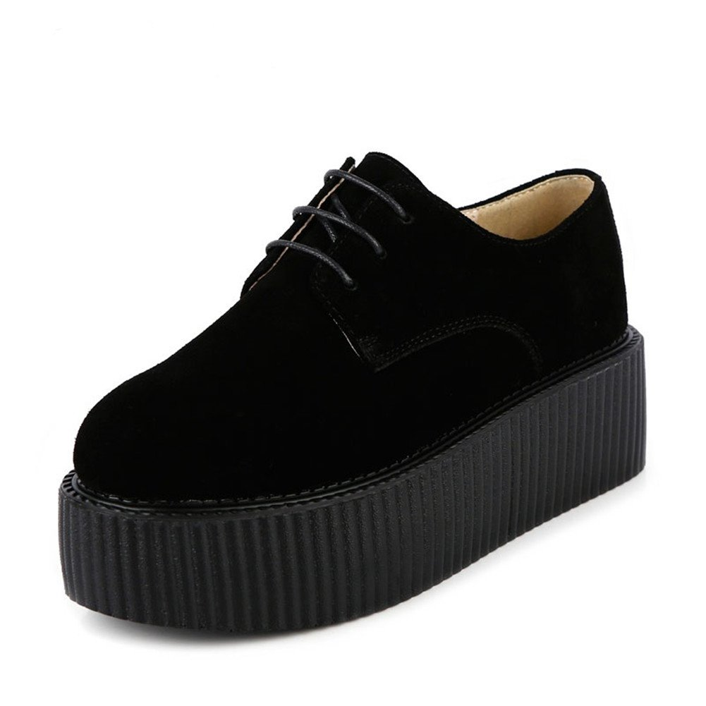 RoseG - Zapatos Planos con Cordones Mujer 41 EU