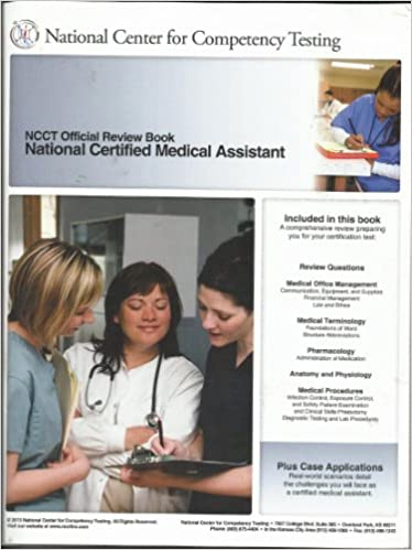 NCCT Official Review Book, National Certified Medical Assistant ...