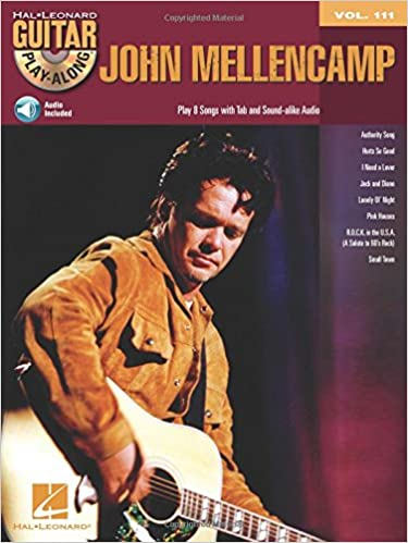 Amazon com: John Mellencamp: Guitar Play-Along Volume 111