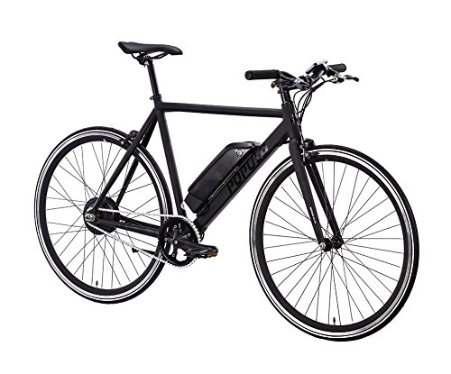 Brand New Luxury Populo Sport Electric Bicycle (Matte Black) (M) (54cm)