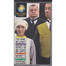 BBC Video World 1989 Vol 1 Issue 20: You Rang, M'Lord?: Around the World in 80 Days: Barney's Christmas Surprise: International SHow Jumping, (VHS) (1)